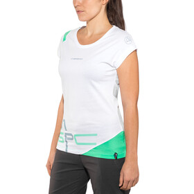 La Sportiva Shortener T-Shirt Damen white